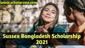 Read more about the article Sussex Bangladesh Scholarship (2021)