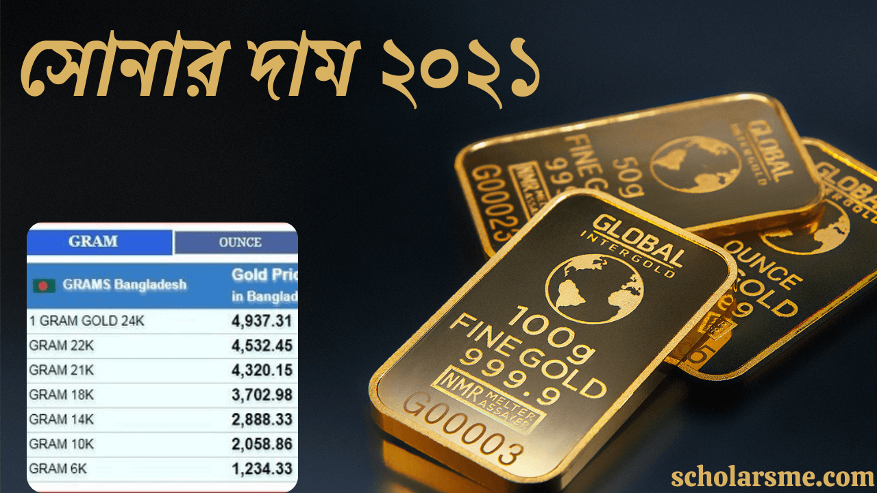 Read more about the article সোনার দাম বাংলাদেশ ২০২১   Gold Price in Bangladesh 2021 Today