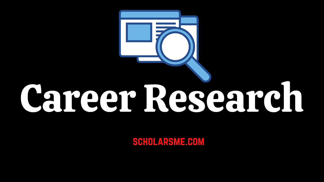 Read more about the article Career Research