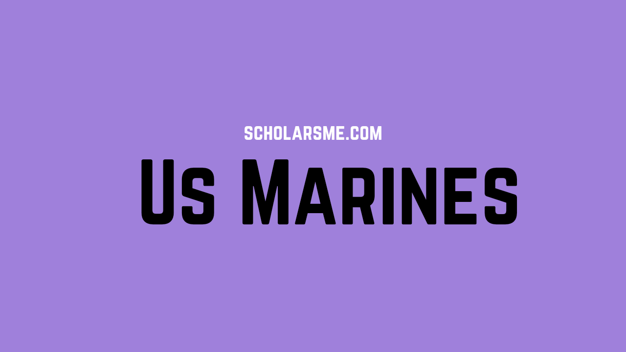 Read more about the article US Marines | Ranks in the us marines