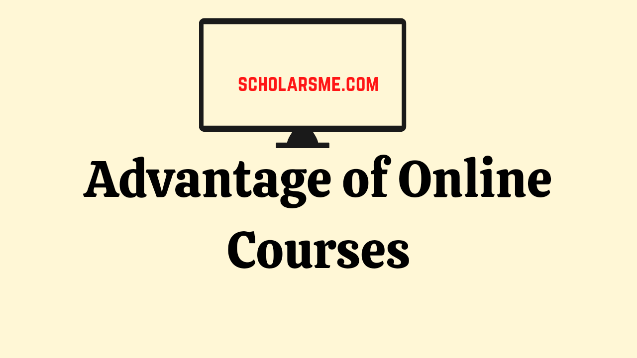 You are currently viewing Online College Courses   Advantages of Online Classes