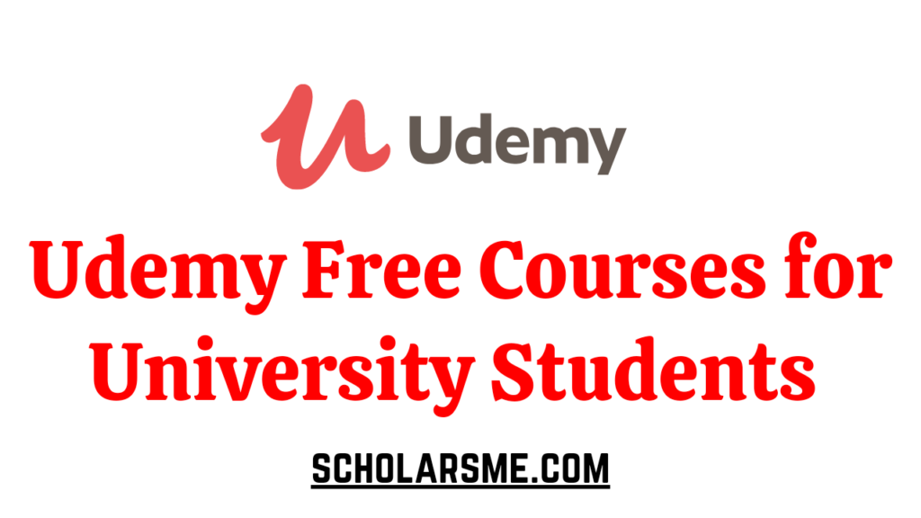 Udemy Courses Free | University Students Online Course