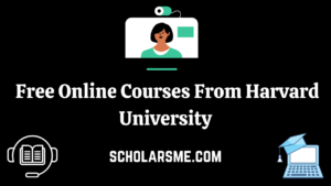 Read more about the article Harvard Free Online Courses