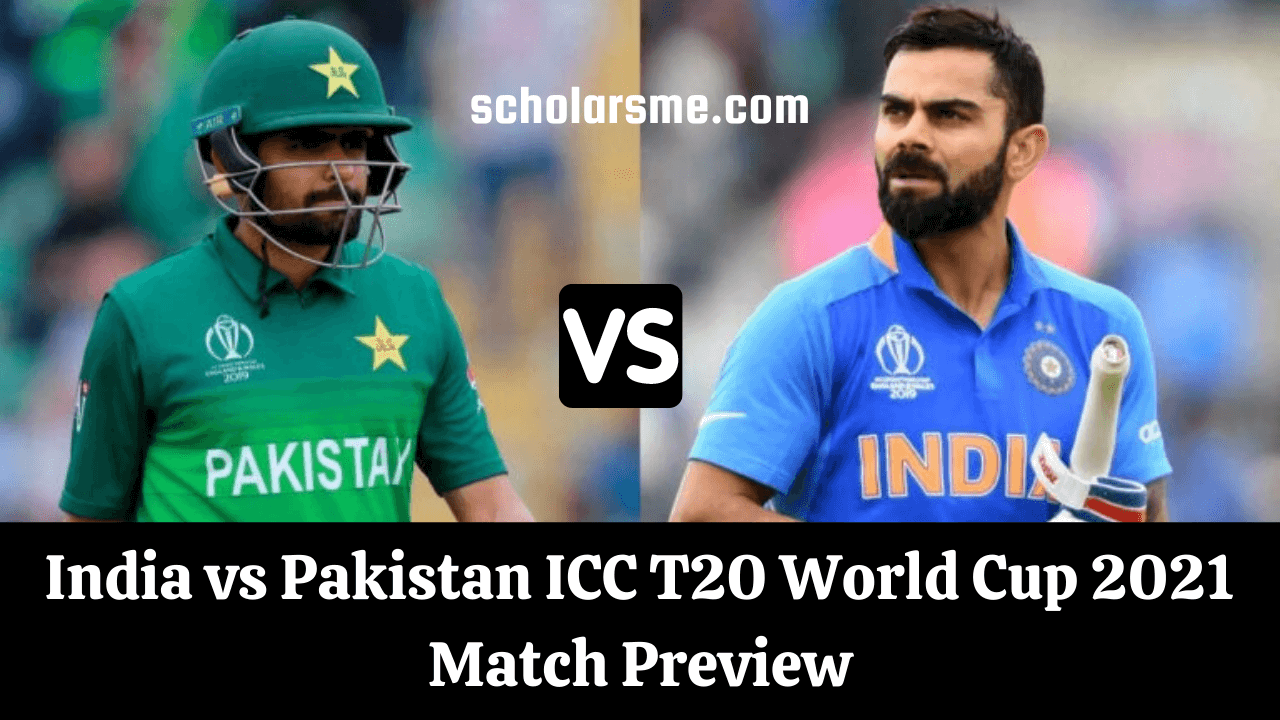 Read more about the article India vs Pakistan ICC T20 World Cup 2021 Match Preview | IND vs PAK Live Streaming Details