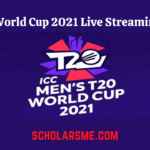 T20 World Cup 2021 Live Streaming & Telecast Channel List
