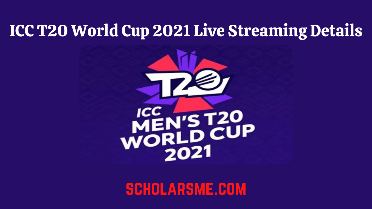 Read more about the article T20 World Cup 2021 Live Streaming & Telecast Channel List